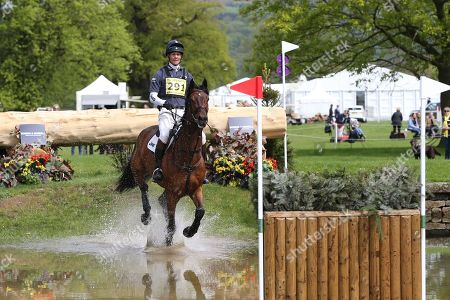 William Fox-Pitt on Little Fire during the International Horse Trials at Chatsworth, Bakewell. Picture by George Franks