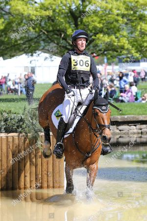 Editorial picture of International Horse Trials., Dodson and Horrell - 12 May 2018