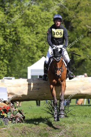 Oliver Townsend on Ulises during the International Horse Trials at Chatsworth, Bakewell. Picture by George Franks