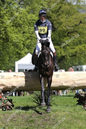William Fox-Pitt riding Oratorio II during the International Horse Trials at Chatsworth, Bakewell. Picture by George Franks