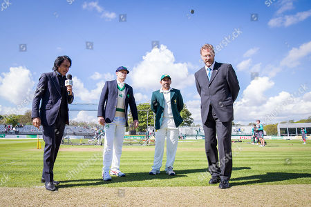 Editorial picture of Test Match, Malahide Cricket Club, Dublin  - 12 May 2018