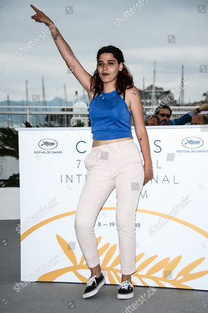 Actress Manal Issa poses during the photocall for 'My Favorite Fabric (Mon Tissu Prefere)' at the 71st annual Cannes Film Festival, in Cannes, France, 12 May 2018. The movie is presented in the section Un Certain Regard of the festival which runs from 08 to 19 May.