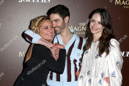 Marie Monge, Tahar Rahim and Stacy Martin