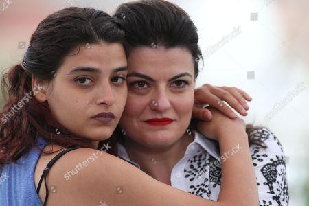 Manal Issa and Gaya Jiji