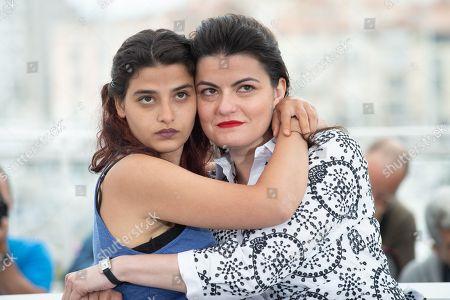 Actress Manal Issa and Director Gaya Jiji