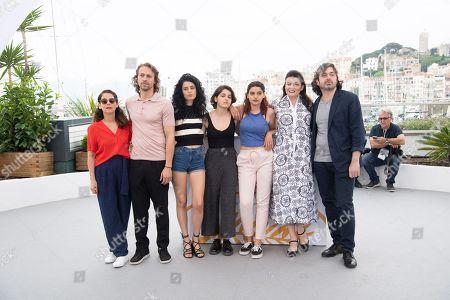 Actress Souraya Baghdadi, actor Metin Akdulger, actress Mariah Tannoury, actress Nathalie Issa, actress Manal Issa, director Gaya Jiji and actor Saad Lostan