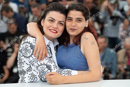 Director Gaya Jiji and actress Manal Issa