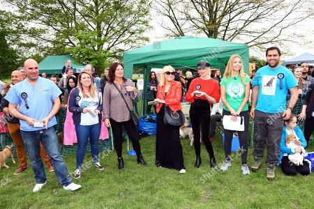 Editorial image of Stars turn out for the All Dogs Matter Great Hampstead Bark Off dog show, Hampstead Heath, London, UK - 12 May 2018