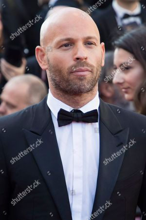 Franck Gastambide poses for photographers upon arrival at the premiere of the film 'Girls of The Sun' at the 71st international film festival, Cannes, southern France
