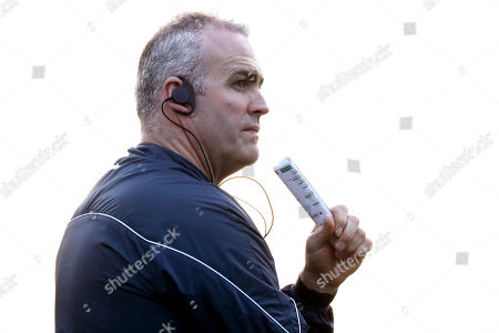 Offaly vs Galway. Offaly's manager Kevin Martin