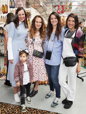 Brita Fernandez Schmidt, Charlotte Dellal, Alex Eagle and Hikari Yokoyama