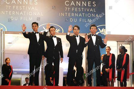 Ji-Hoon Ju, Sung-min Lee, Director Jong-bin Yoon, Jung-min Hwang