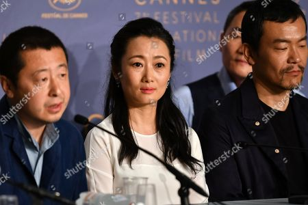 Editorial photo of 'Ash Is Purest White' press conference, 71st Cannes Film Festival, France - 12 May 2018