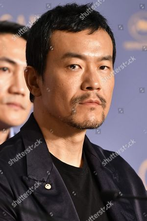 Editorial picture of 'Ash Is Purest White' press conference, 71st Cannes Film Festival, France - 12 May 2018
