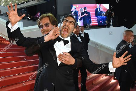 Michael Shannon, Ramin Bahrani. Actor Michael Shannon, left, and director Ramin Bahrani pose for photographers upon arrival at the premiere of the film 'Fahrenheit 451' at the 71st international film festival, Cannes, southern France