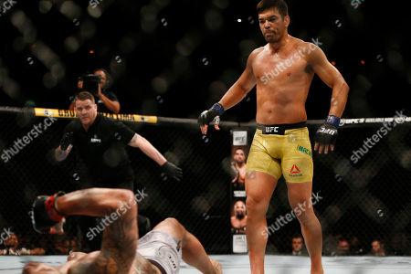 Editorial photo of UFC Mixed Martial Arts, Rio de Janeiro, Brazil - 12 May 2018