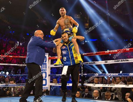 Editorial picture of Lomachenko Linares Boxing, New York, USA - 12 May 2018