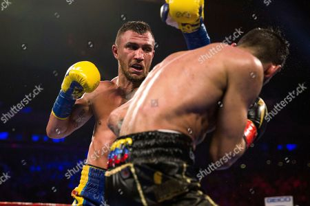 Editorial photo of Lomachenko Linares Boxing, New York, USA - 12 May 2018