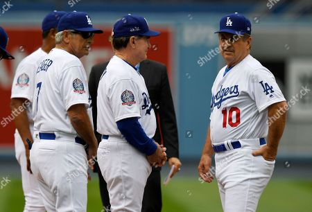 Editorial picture of Reds Dodgers Baseball, Los Angeles, USA - 12 May 2018