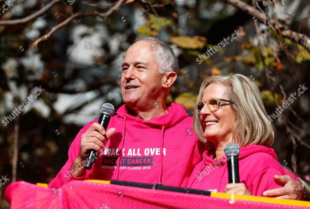 Malcolm Turnbull and Lucy Turnbull