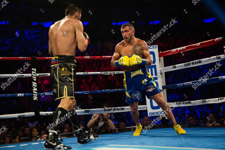 Editorial image of Lomachenko Linares Boxing, New York, USA - 12 May 2018