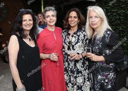 L To R Creative England's Caroline Norbury, Bella Relph, Producer Elizabeth Karlsen and BFI CEO Amanda Neville