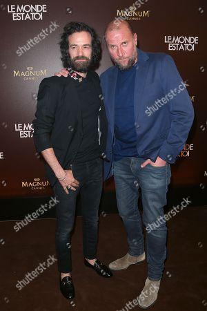 Romain Duris and Francois Damiens