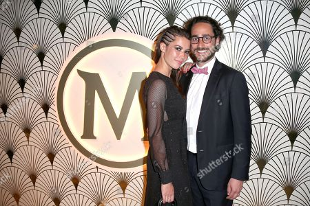 Thomas Hollande and girlfriend Emilie Broussouloux