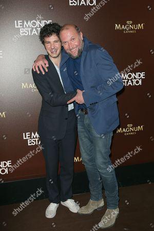 Vincent Lacoste and Francois Damiens