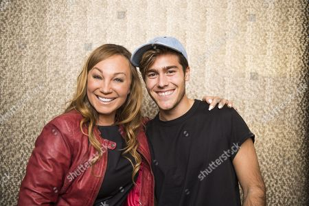 Stock Picture of Charlotte Perrelli with Benjamin Ingrosso