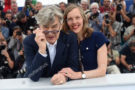 Director Wim Wenders and his wife Donata Wenders