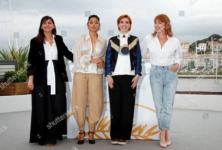 (L-R) Producer Didar Domehri, Golshifteh Farahani, French director Eva Husson and actress Emmanuelle Bercot pose during the photocall for 'Girls of the Sun (Les Filles du Soleil)' at the 71st annual Cannes Film Festival, in Cannes, France, 13 May 2018. The movie is presented in the Official Competition of the festival which runs from 08 to 19 May.