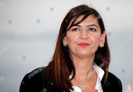 Producer Didar Domehri poses during the photocall for 'Girls of the Sun (Les Filles du Soleil)' at the 71st annual Cannes Film Festival, in Cannes, France, 13 May 2018. The movie is presented in the Official Competition of the festival which runs from 08 to 19 May.