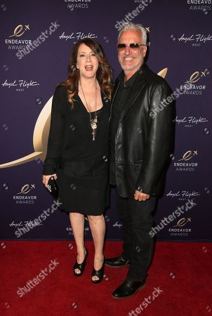 Stock Image of Joely Fisher, Christopher Duddy