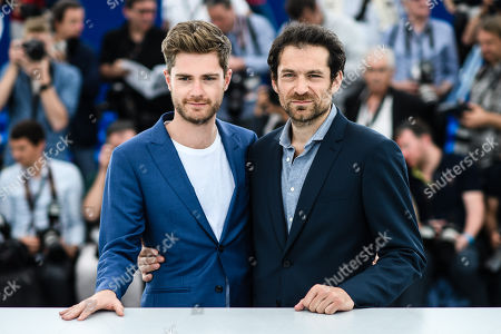 (L-R) Belgian director Lukas Dhont and  Belgian actor Arieh Worthalter pose during the photocall for 'Girl' at the 71st annual Cannes Film Festival, in Cannes, France, 13 May 2018. The movie is presented in the section Un Certain Regard of the festival which runs from 08 to 19 May.