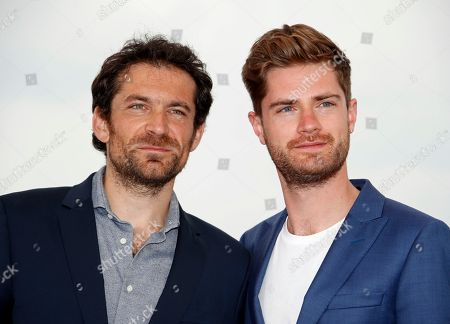 Belgian director Lukas Dhont (R) and Belgian actor Arieh Worthalter pose during the photocall for 'Girl' at the 71st annual Cannes Film Festival, in Cannes, France, 13 May 2018. The movie is presented in the section Un Certain Regard of the festival which runs from 08 to 19 May.