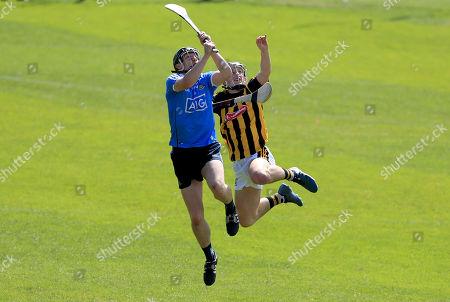 Dublin vs Kilkenny. Dublin's Eoin Carney with Jack Morrissey of Kilkenny