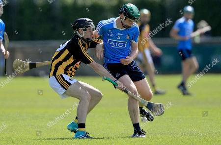 Dublin vs Kilkenny. Dublin's Eoin Carney with Conor Kelly of Kilkenny