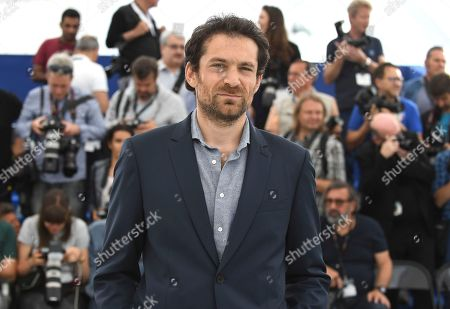 Actor Arieh Worthalter poses for photographers during a photo call for the film 'Girl' at the 71st international film festival, Cannes, southern France