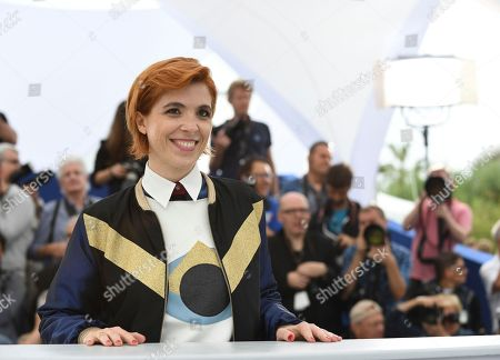 Director Eva Husson poses for photographers during a photo call for the film 'Girls of The Sun' at the 71st international film festival, Cannes, southern France