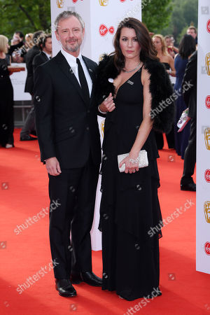 Stock Picture of John Simm and Kate Magowan