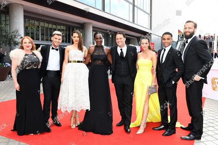 Stock Photo of Kieran Richardson, Anna Passey, Nick Pickard, Nadine Mulkerrin and guests