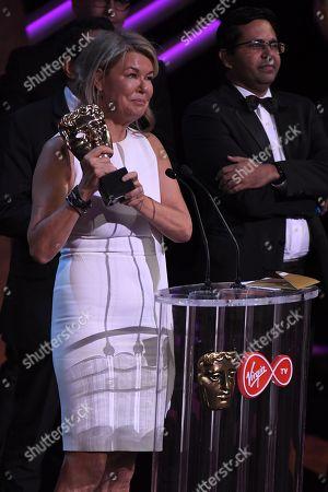 Editorial image of British Academy Television Awards, Ceremony, Royal Festival Hall, London, UK - 13 May 2018