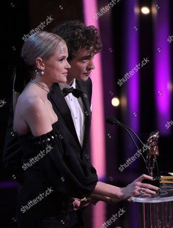 International Award presented by Gabriella Wilde and Josh Whitehouse