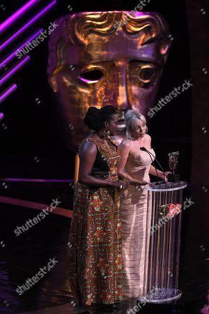 Mini Series Award presented by Wunmi Mosaku and Helen George