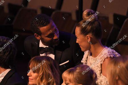 Rio Ferdinand and Kate Wright, Single Documentary Award, 'Rio Ferdinand: Being Mum and Dad'