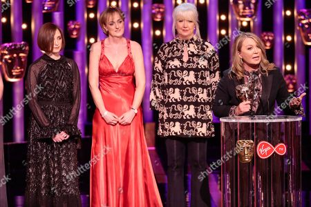 Kirsty Young, Claire Popplewell, Rosheen Archer, Julia Knowles, Live Event Award, 'World War One Remembered: Passchendaele'