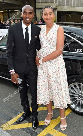 Mo Farah and Rihanna Farah