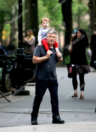 Editorial picture of Alec Baldwin out and about, New York, USA - 12 May 2018