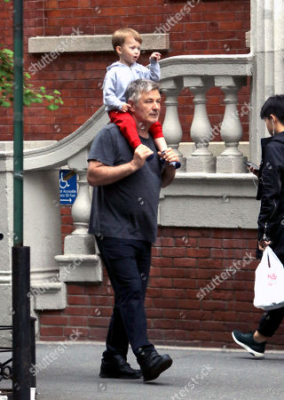 Editorial photo of Alec Baldwin out and about, New York, USA - 12 May 2018